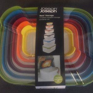 Joseph Joseph nest storage container set